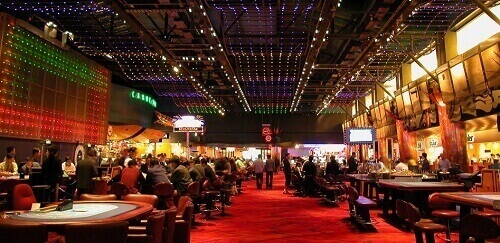 Image of land-based casino - casino indoors