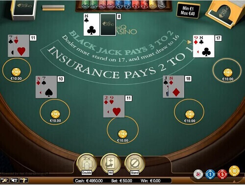 Online Blackjack - Table Games NZ