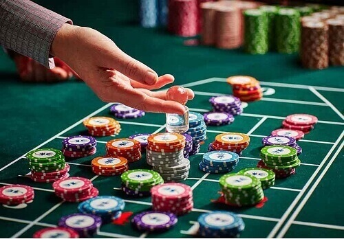 Image of Roulette chips