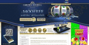 golden riviera casino home page