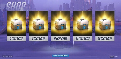 Loot Boxes Overwatch Online New Zealand