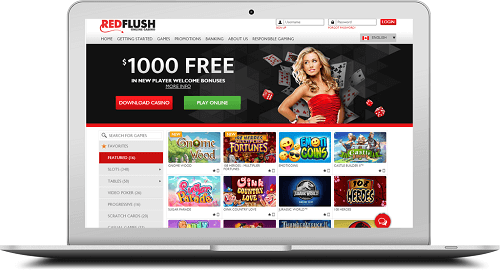 Casino Gaming at Red Flush Casino