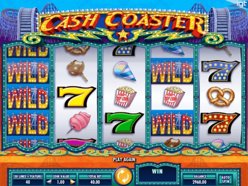 Cash Coaster Pokie Rating