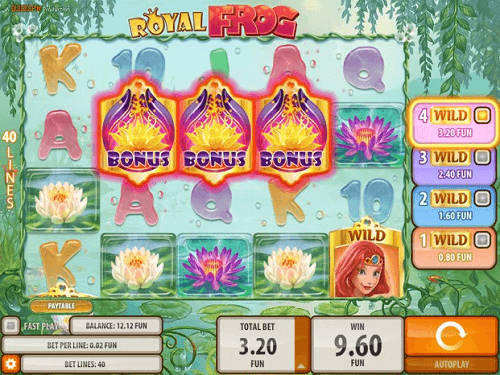 Royal Frog Pokie Rating