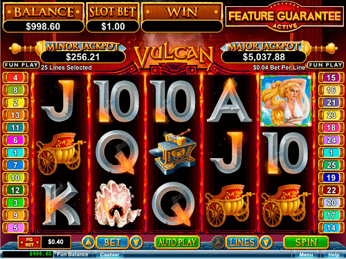 Vulcan Pokie Review