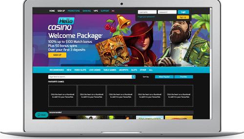 Hello Casino Review New Zealand