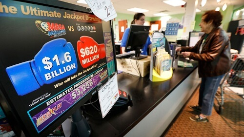 Mega Millions Lottery jackpot unclaimed in USA