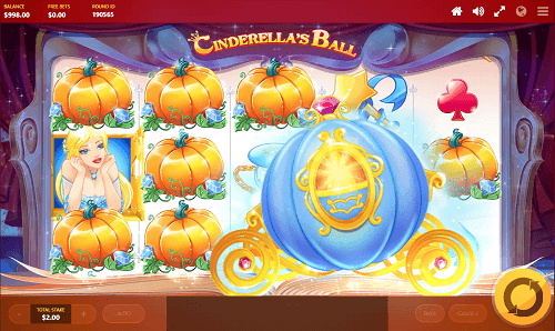 Cinderella's Ball Pokie Review