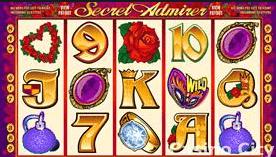 secret admirer valentine slot reels