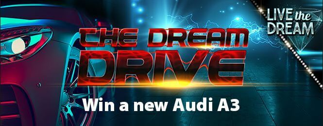 Win an Audi A3 in the Dream Drive Promo