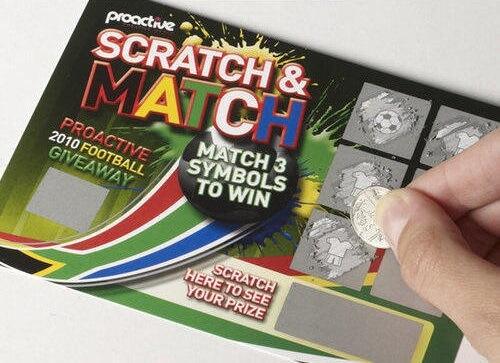 Basic Scratch Card Rules 2019