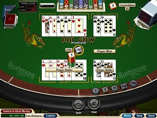 Pai Gow Poker Game Rules And Strategy