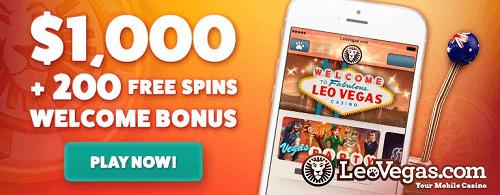 Leo Vegas Casino Offer