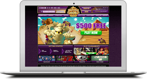 Mummy's Gold Casino Promotions