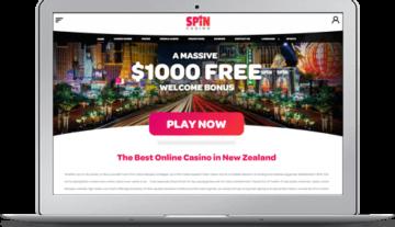 Spin Casino Lobby