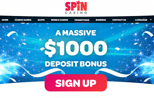 Spin Casino Offer