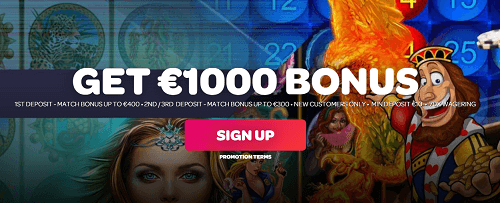Spin Palace Offer