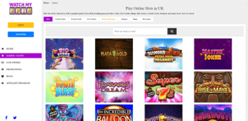 WatchMySpin Casino Games