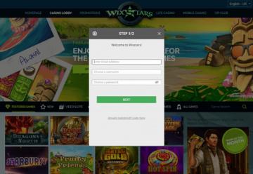 Wixstars Casino Rating