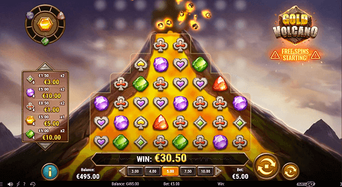 Gold Volcano July Pokie