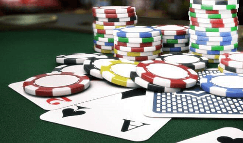 Online Poker Chips Cards