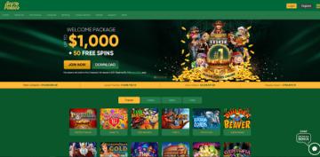 Ace Pokies Casino Lobby