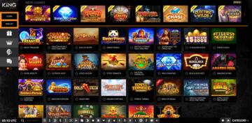 King Johnnie Casino Games
