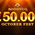 Booongo October Fest Tournament Starts 15 October