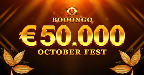 Booongo October Fest Tournament