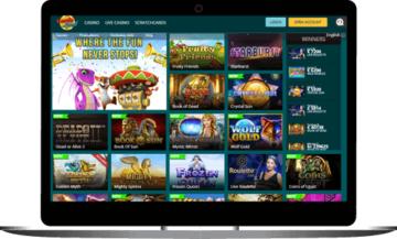 LuckLand Casino Lobby