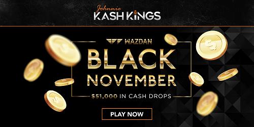 Wazdan Cash Drops November Tournament