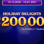 Playson Holiday Delights Tournament & Prize Information