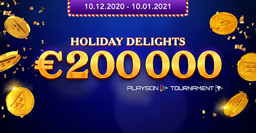 Playson Holiday Delights Tournament Series