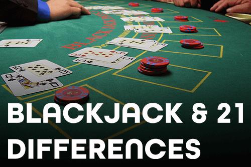 Apakah Blackjack dan 21 Game yang Sama?